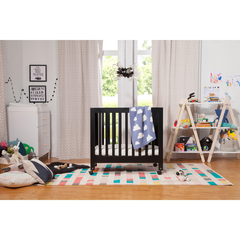 mini cribs emily white convertible cribssears l davinci in baby target wayfair crib origami portable
