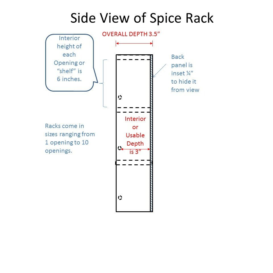 Watch WG Wood Products Midland Premium Spice Rack MID-669- Finish: Medium Brown video
