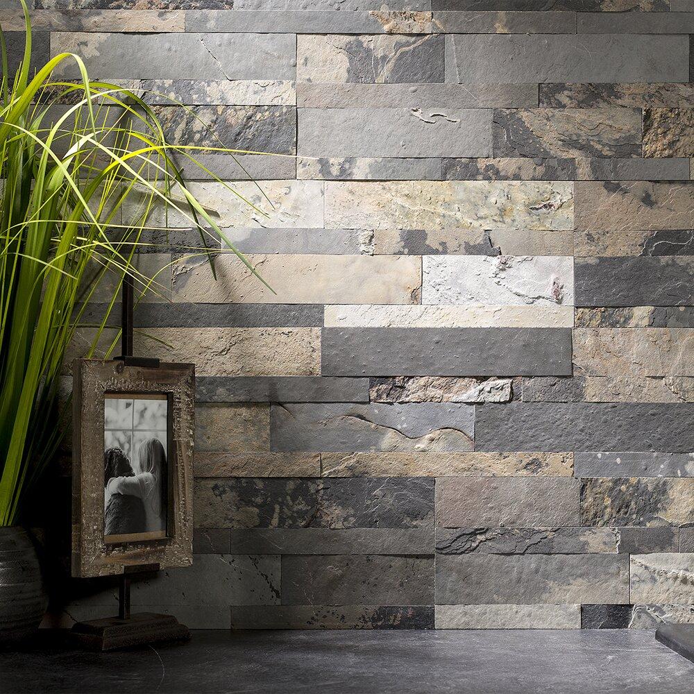 Lowes slate tile backsplash