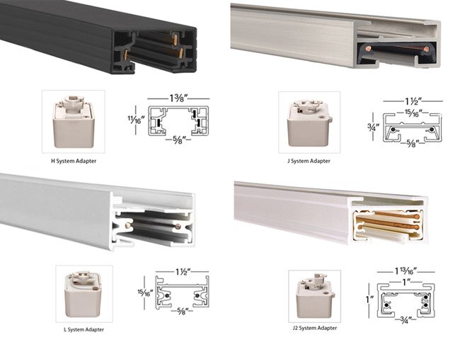track lighting buying guide wayfair. Black Bedroom Furniture Sets. Home Design Ideas