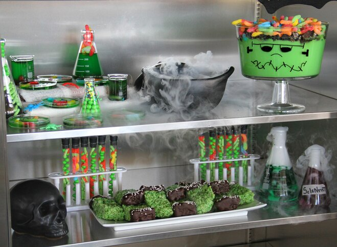 All Treats, No Tricks: Host a Sweet Mad Scientist-Themed Party