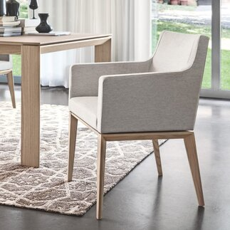Modern dining chairs allmodern for White bucket dining chairs