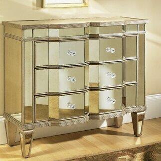 Mirrored Furniture Buy online from Wayfair UK
