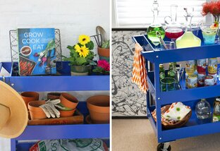 4 Ways to Use a Storage Cart