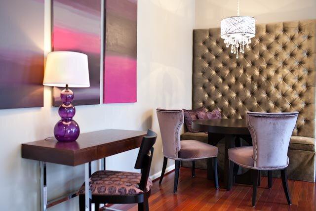 Glam Rec Rooms design