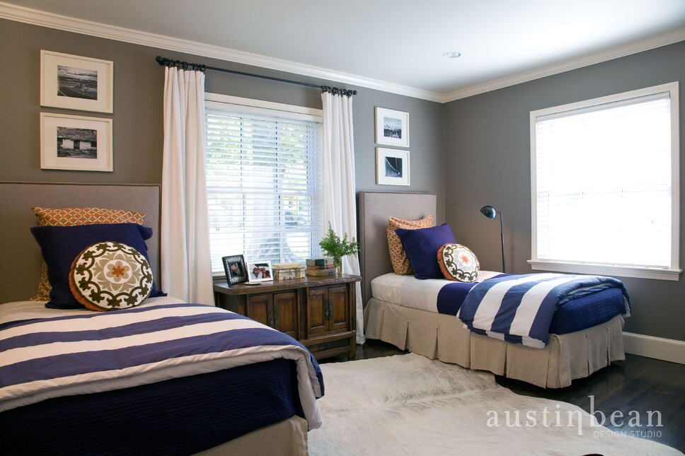Cottage remodel by Austin Bean Design Studio Contemporary Bedroom design