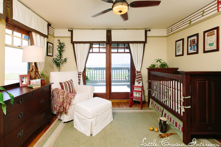Nursery Design by Little Crown Interiors, Photo by Full Spectrum Photography Traditional Nursery design