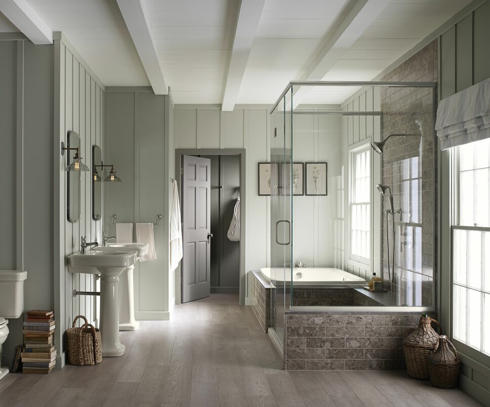 Cottage/Country Bathroom design