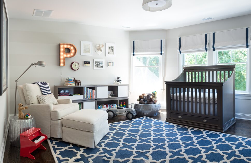 Eclectic Nursery design