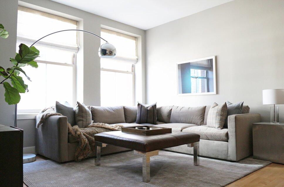 Modern comfort living room space. Modern Living Room design