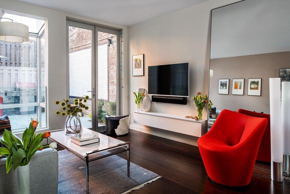 Ilir Rizag Photography, Interior Decorating - Rinat Tahar Modern Living Room design