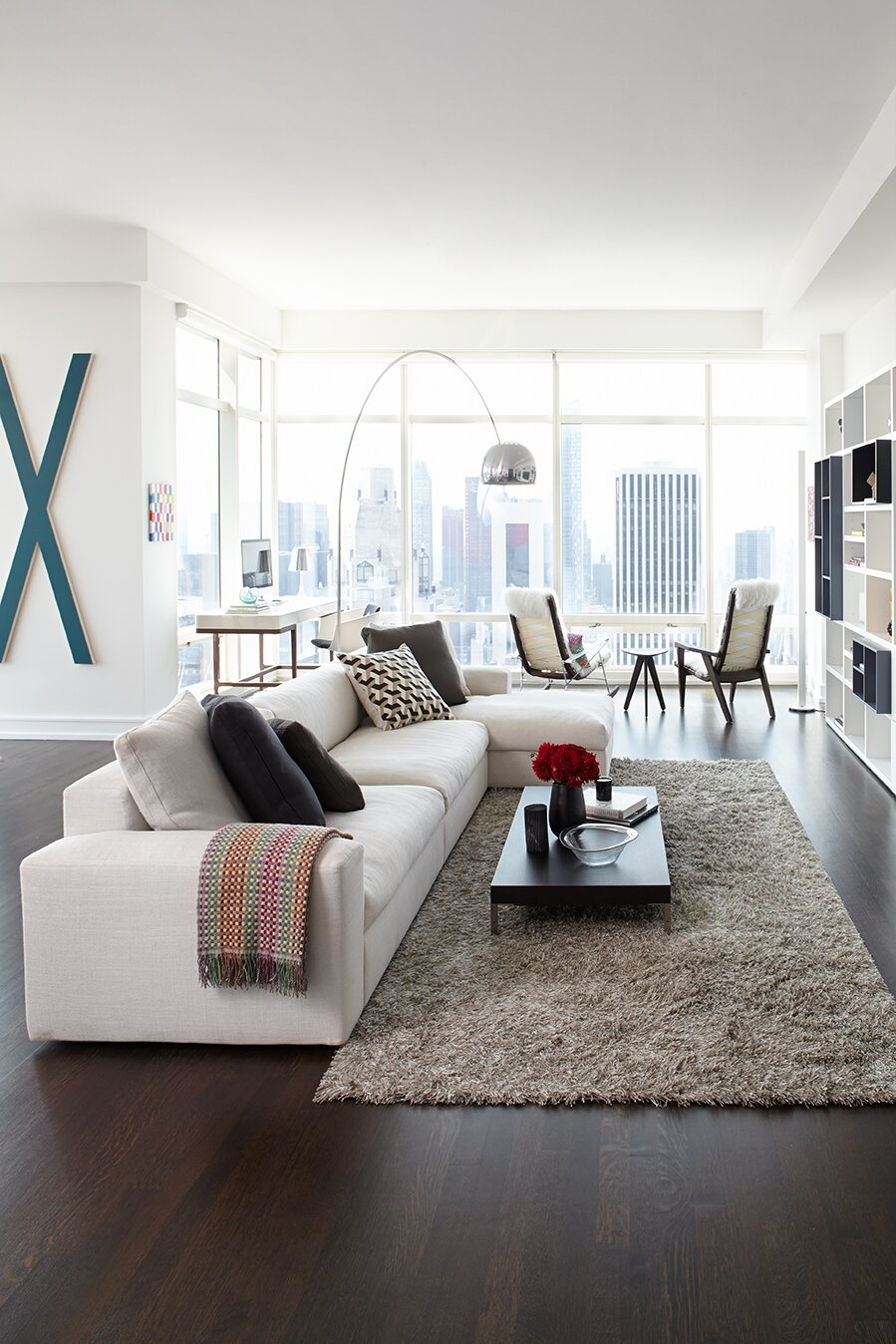 marili forastieri Modern Living Room design