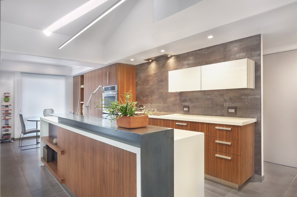 photographer VWC Studio  cabinetry by Homeworks Tucson Modern Kitchen design
