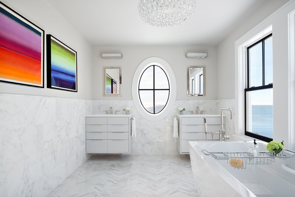 Donna Dotan Photography Inc. Modern Bathroom design