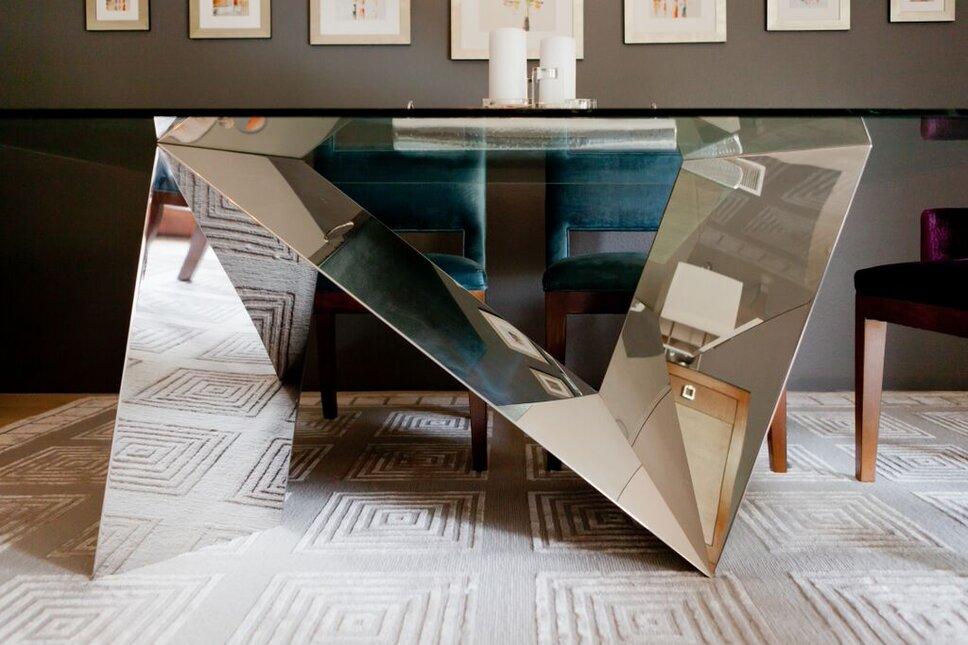 Amy Bartlam Contemporary Dining Room design