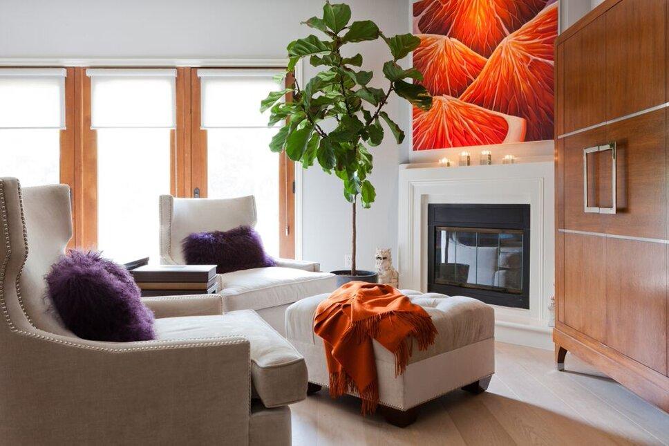 Amy Bartlam Contemporary Living Room design
