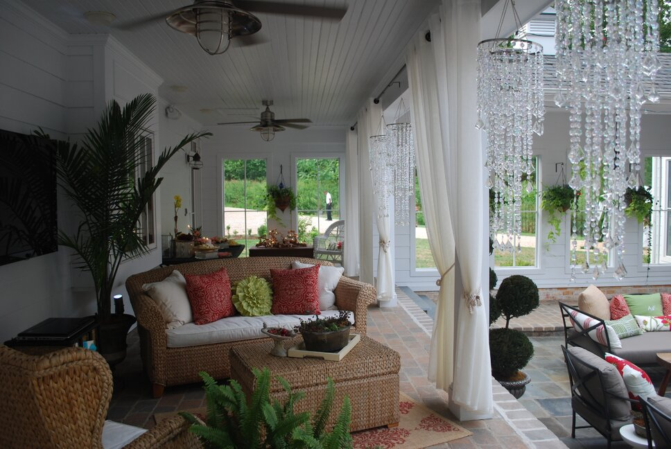 Eclectic Exterior, Deck, & Patio design