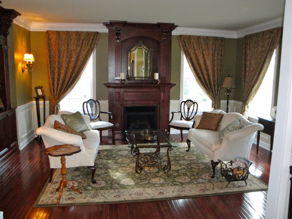 Completed by Inviting Interiors, Cherry Hill, NJ Traditional Living Room design