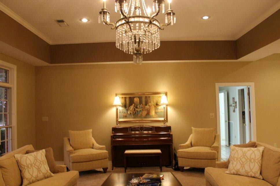 www.stricklandinteriors.com Traditional Living Room design