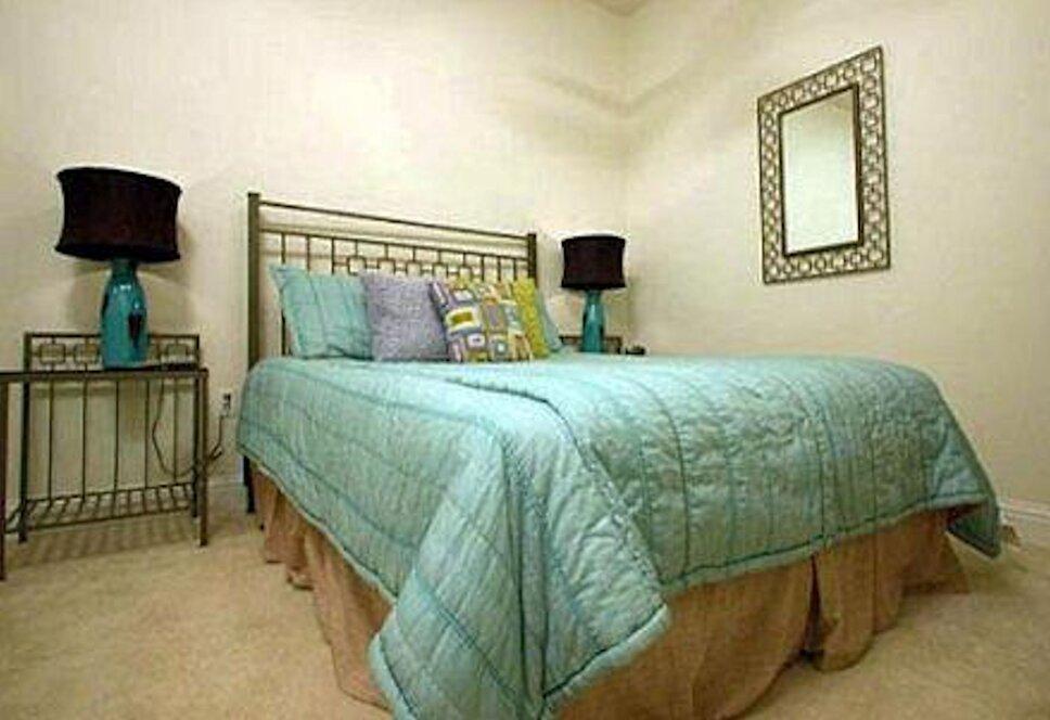 www.stricklandinteriors.com Eclectic Bedroom design