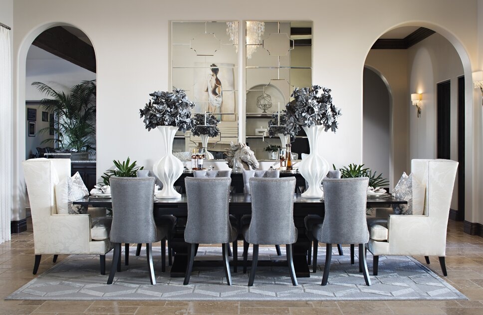 Photo taken by Zack Benson Contemporary Dining Room design