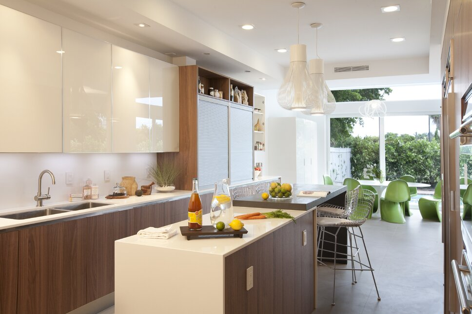 Residential interior design project in Miami, FL. Photos by Alexia Fodere. Modern Kitchen design