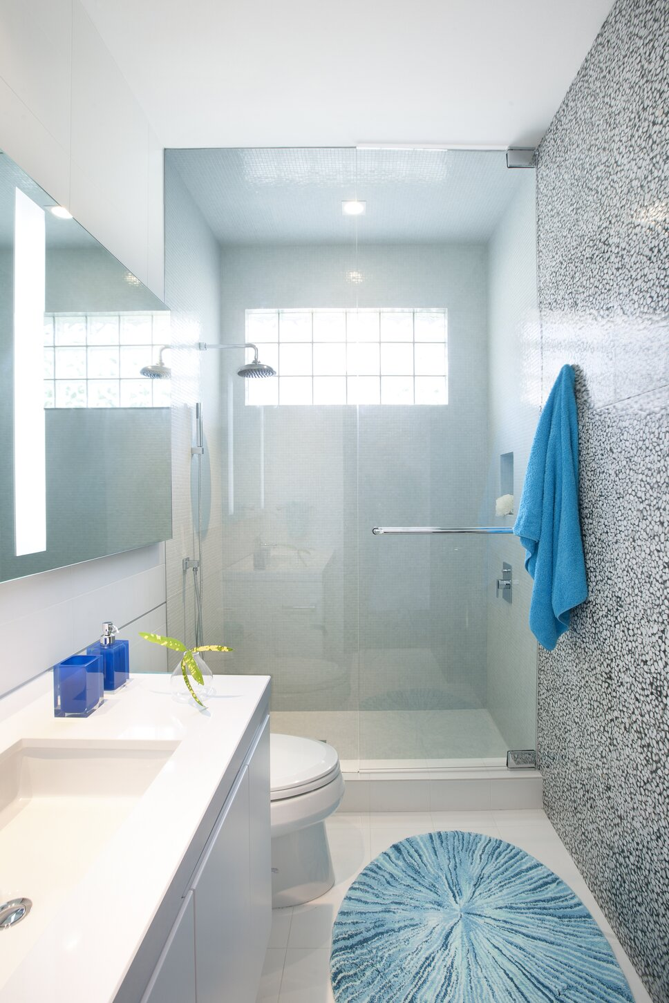 Residential interior design project in Miami, FL. Photos by Alexia Fodere. Modern Bathroom design