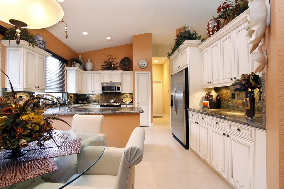 HK Interiors, Coral Springs FL Traditional Kitchen design