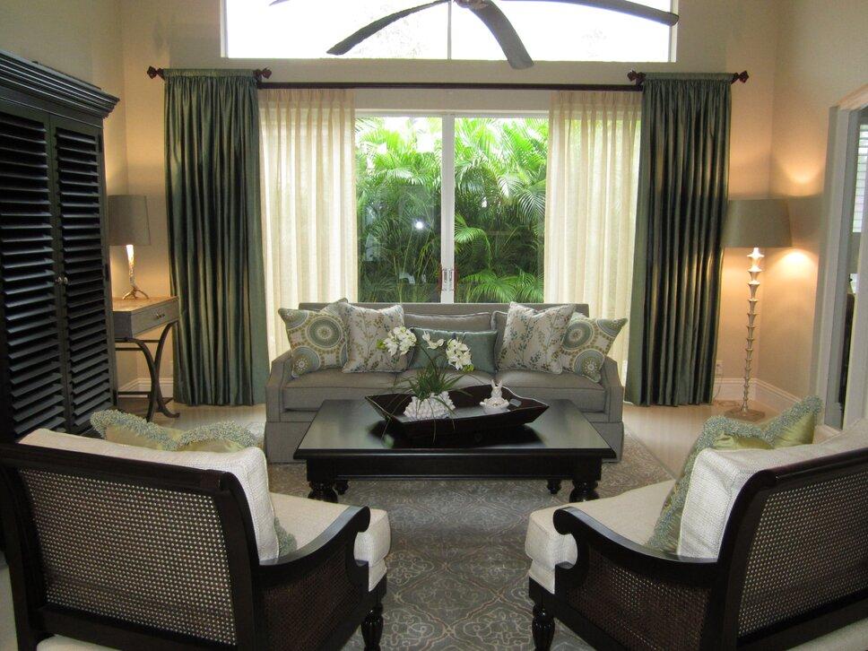 HK Interiors, Coral Springs FL Contemporary Living Room design