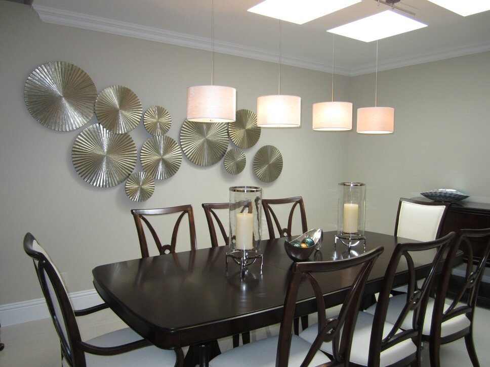 HK Interiors, Coral Springs FL Contemporary Dining Room design