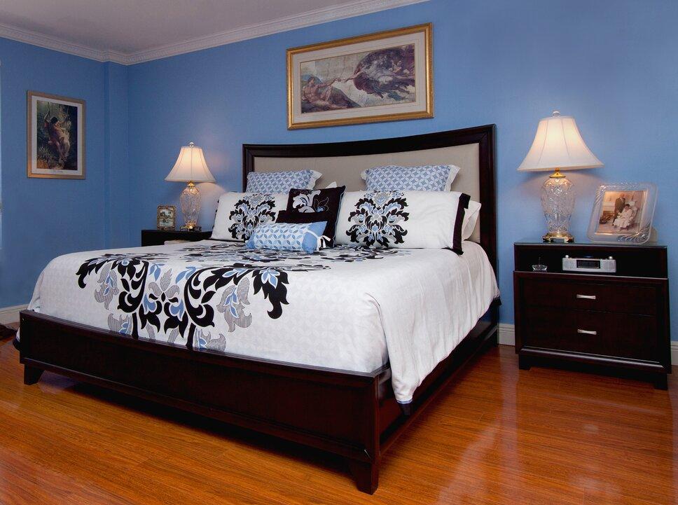 HK Interiors, Coral Springs FL Contemporary Bedroom design