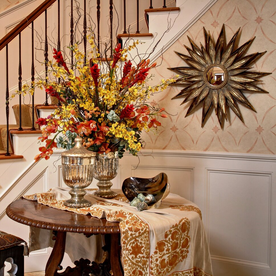 Jeffrey Brooks Paintek Mike OBrien Traditional Entryway & Hallway design