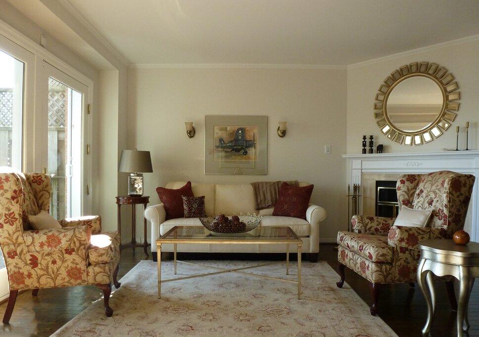 SET For Design Traditional Living Room design
