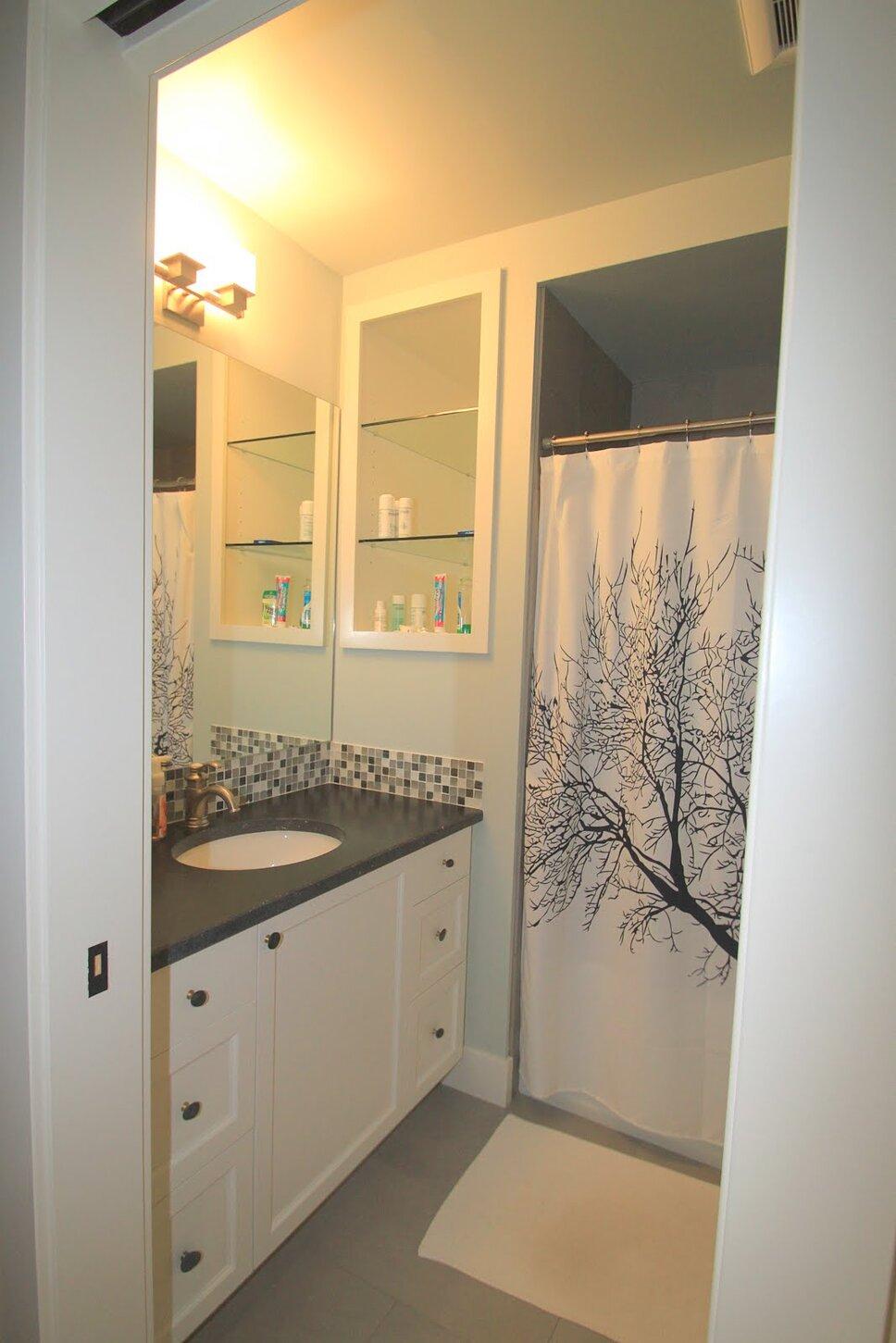 Guest bathroom Coastal Bathroom design