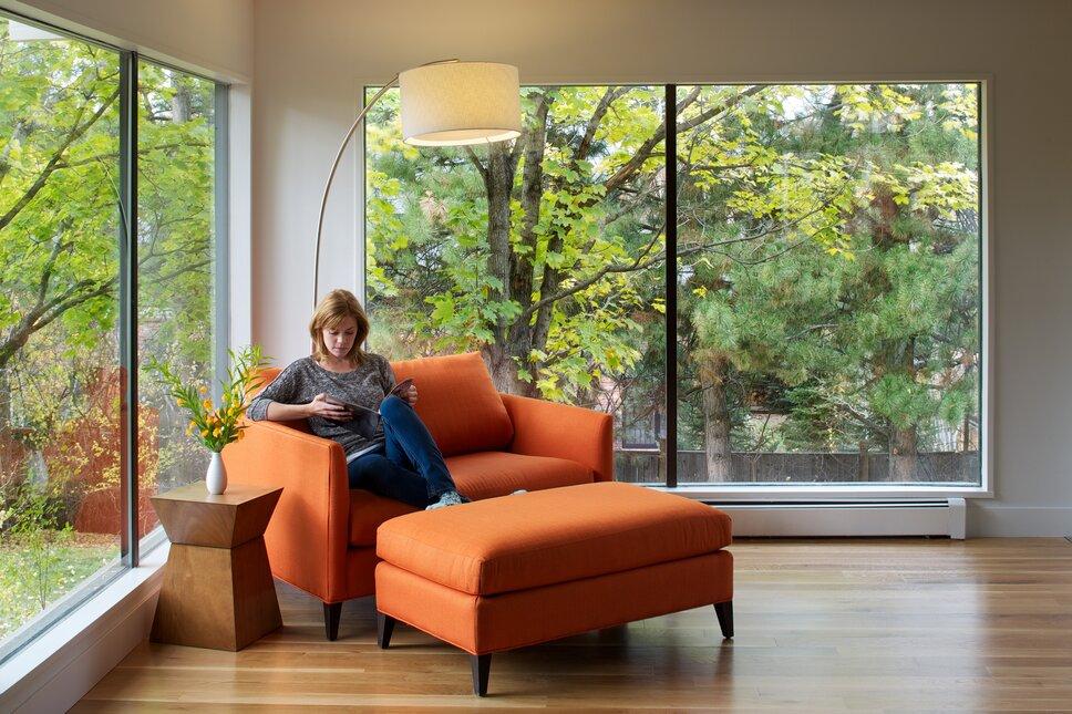 Photos by www.davidlauerphotography.com Modern Living Room design