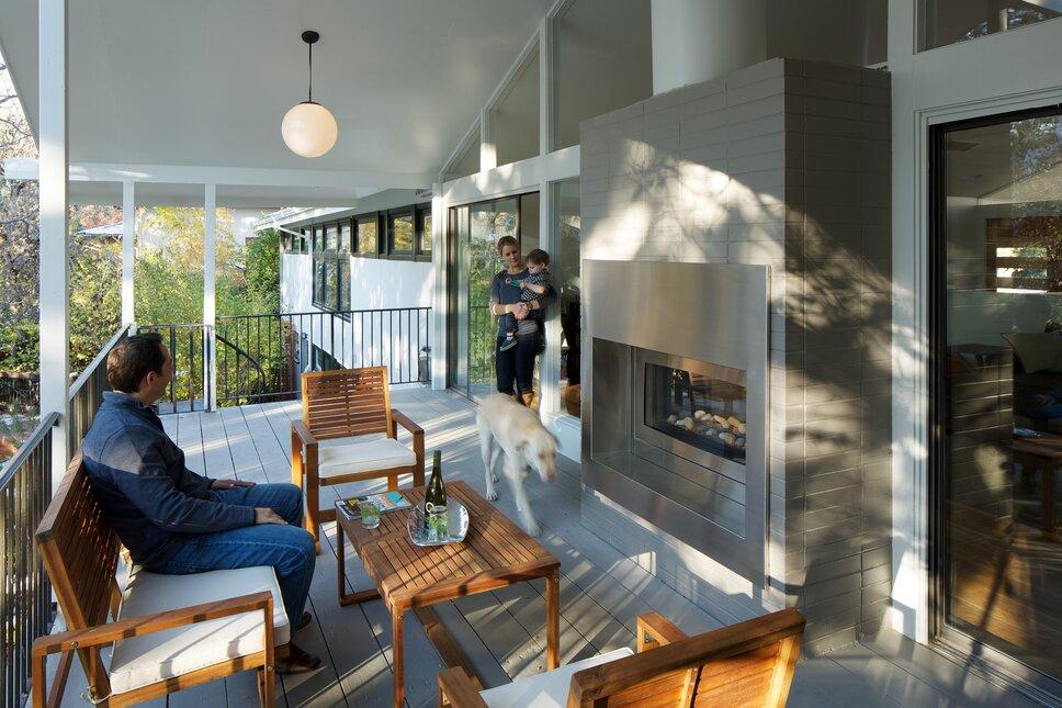 Photos by www.davidlauerphotography.com Modern Exterior, Deck, & Patio design