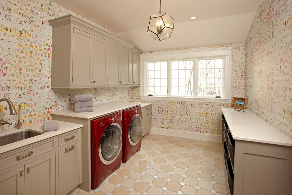 Contemporary Laundry & Mud Rooms design