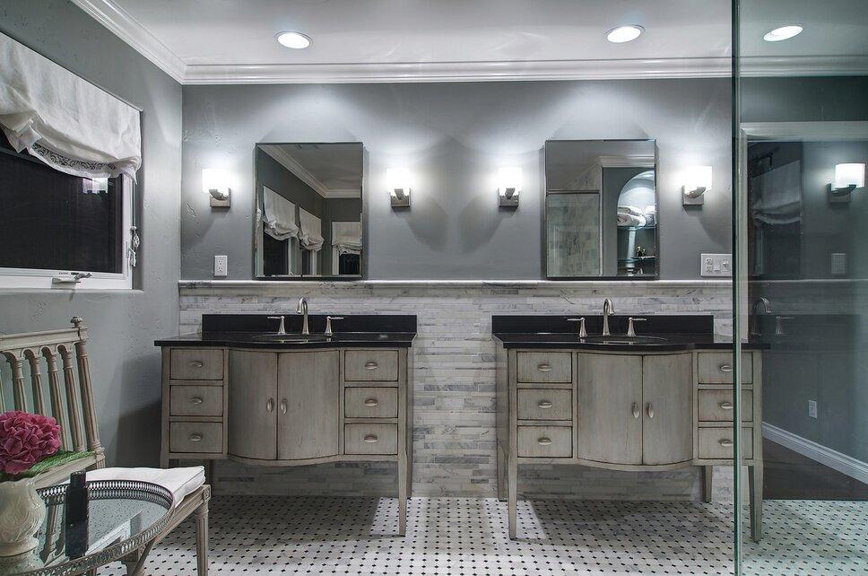 LONDON JEWELL INTERIOR DESIGN Contemporary Bathroom design