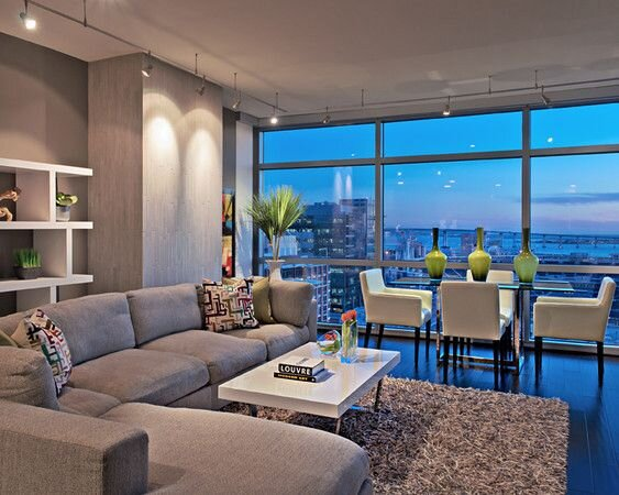 LONDON JEWELL INTERIOR DESIGN Modern Living Room design