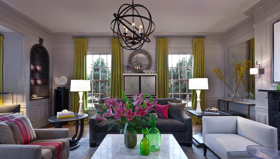 Photographer Chip Pankey Contemporary Living Room design