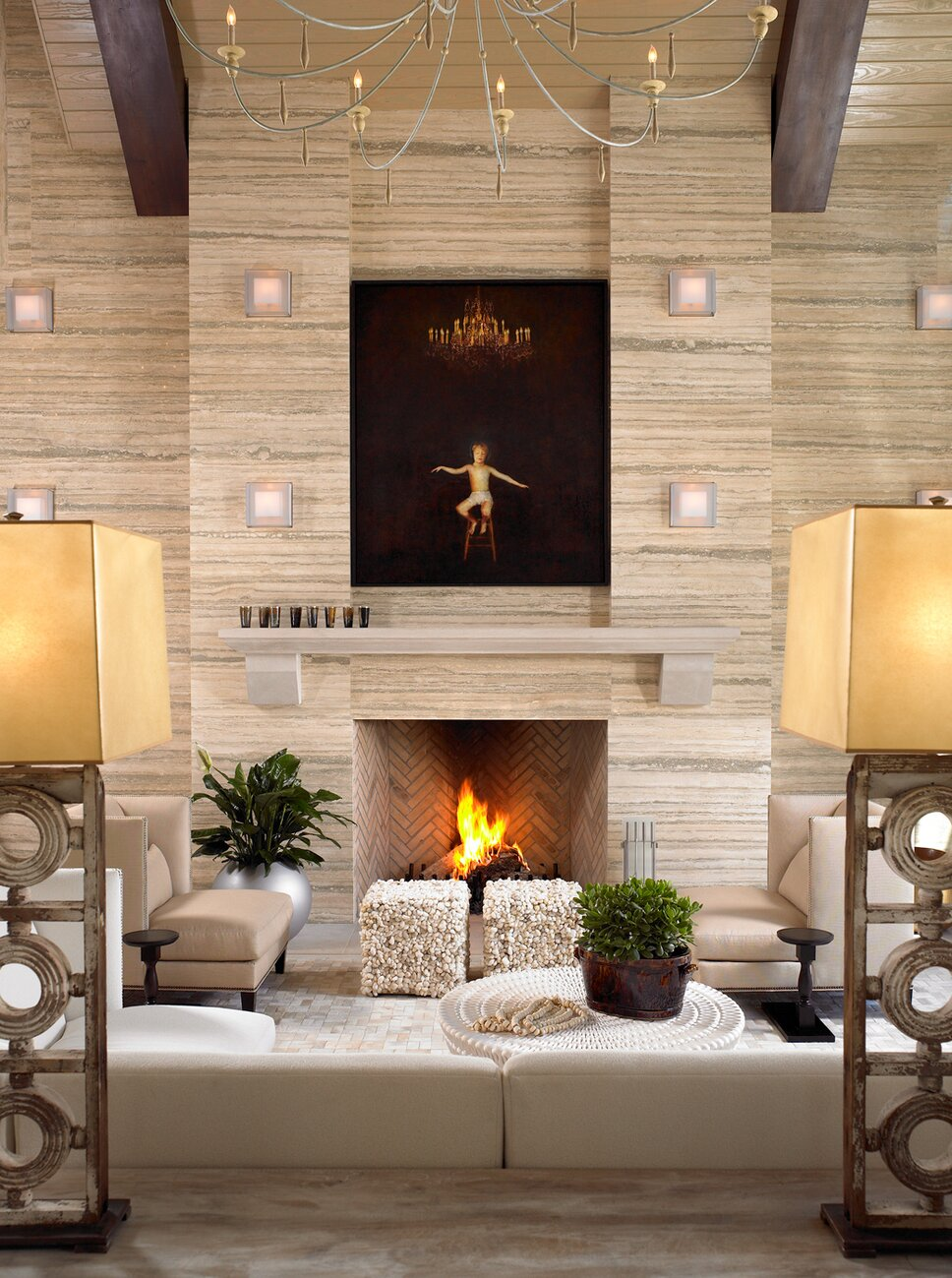Photographer Kim Sargent Contemporary Living Room design