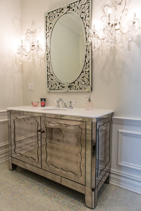 Glam Bathroom design