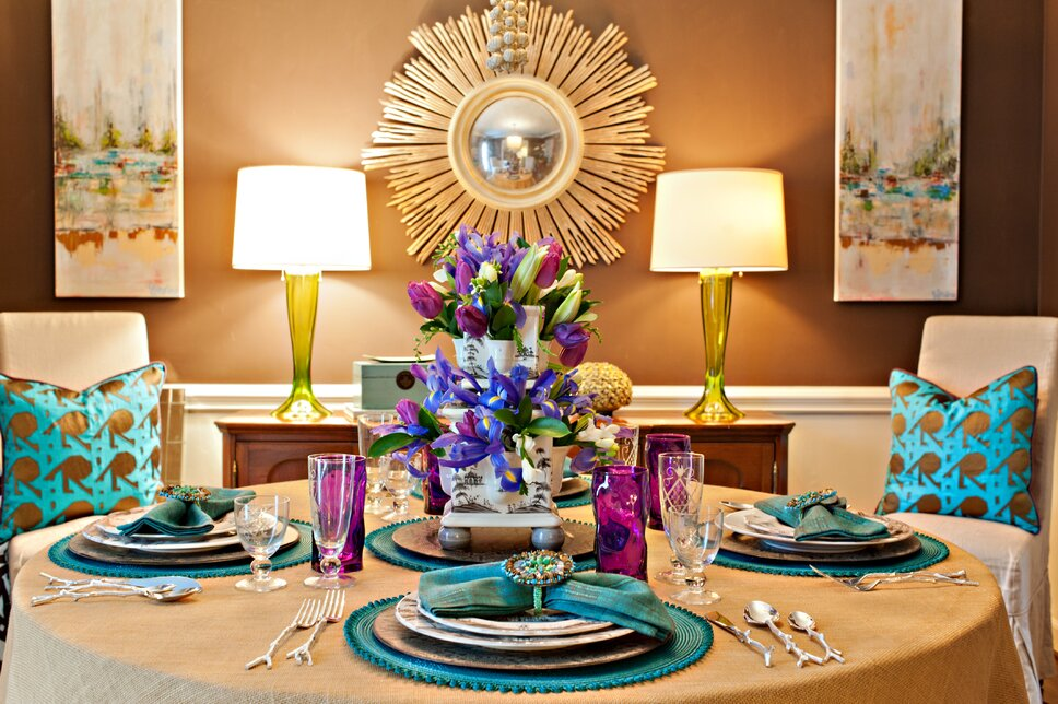 Lisa Turnage Photography Eclectic Dining Room design