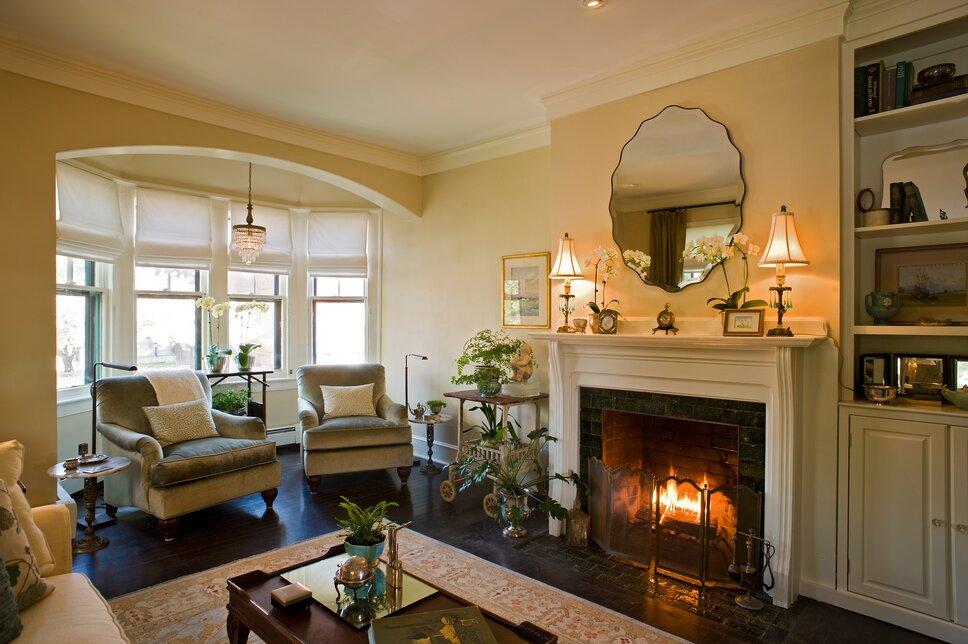 Kirsten Floyd Interior DesignJohn Herr Photography Traditional Living Room design