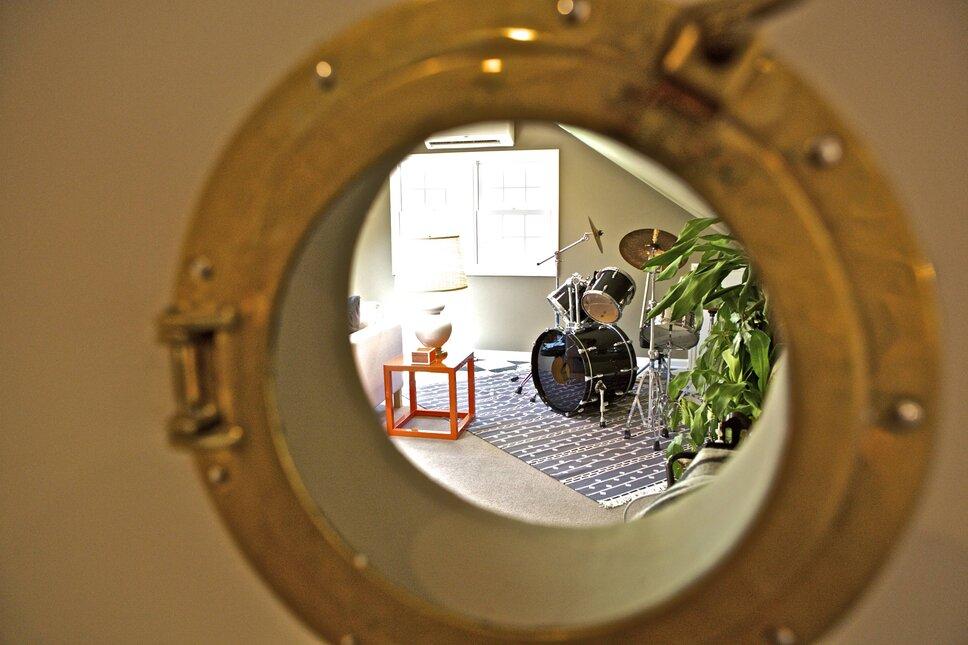 Eclectic Rec Rooms design