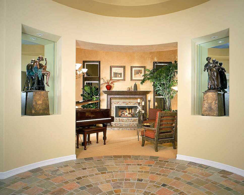 Photography by Martin King Traditional Entryway & Hallway design