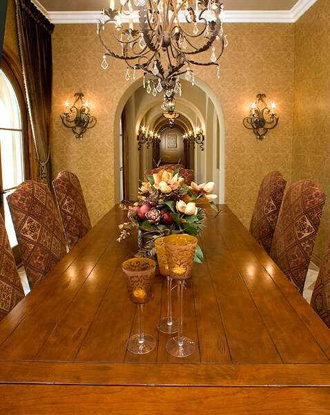 Photography by Bryan LambOC Interior Photography Traditional Dining Room design