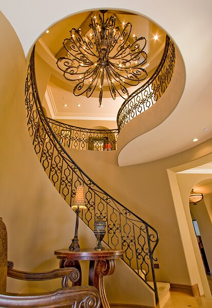 Photography by Bryan LambOC Interior Photography Traditional Entryway & Hallway design