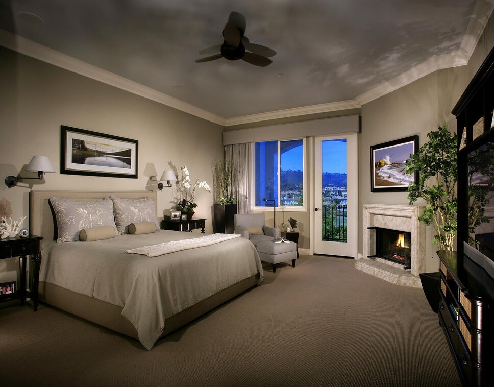 Photography by Anthony Gomez Traditional Bedroom design