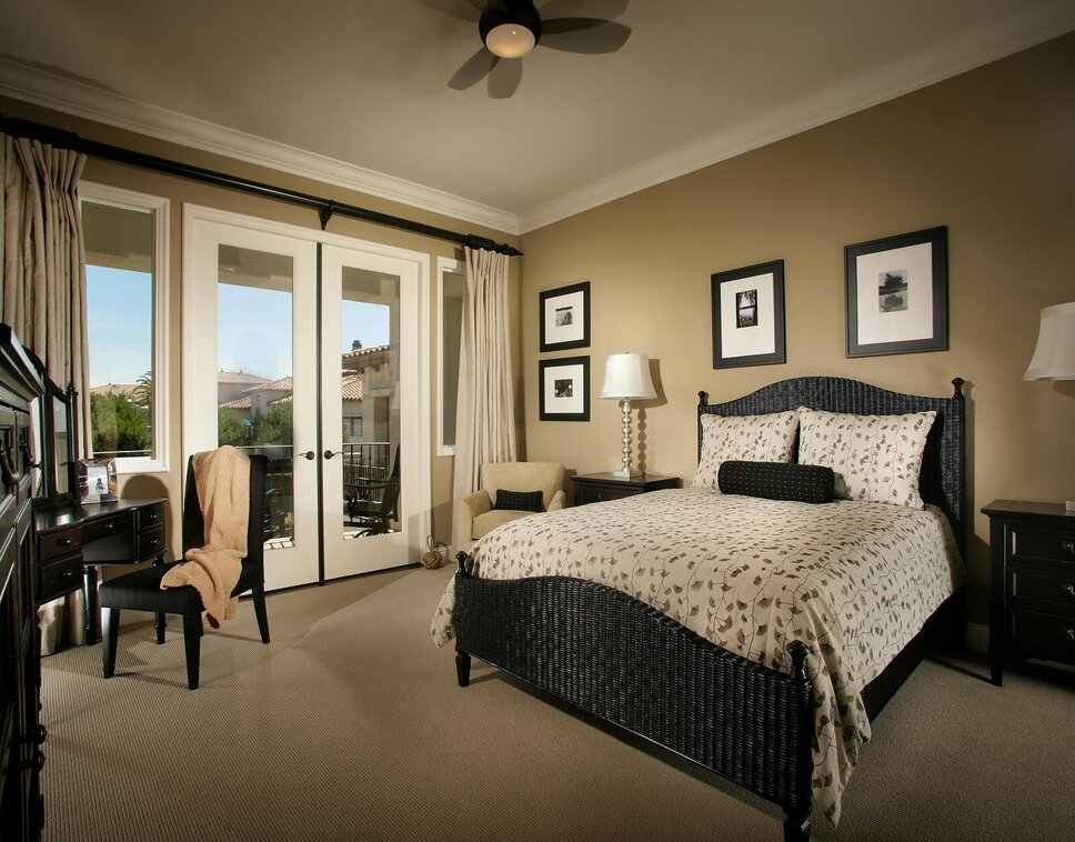 Photography by Anthony Gomez Contemporary Bedroom design